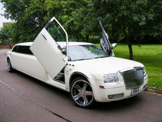 8 Seat Standard Limousine Limo Hire Oxford